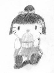 Hello Kitty Orizuru plush by Actonrf