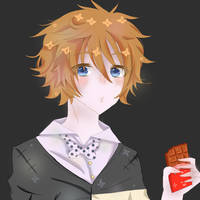 CHOCOLATE by RoseOfDarkness2