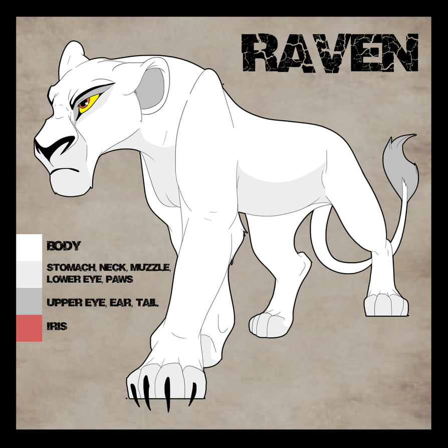 Raven Ref by albinoraven666fanart