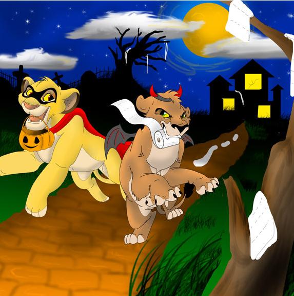 Old Halloween Art 3 by albinoraven666fanart