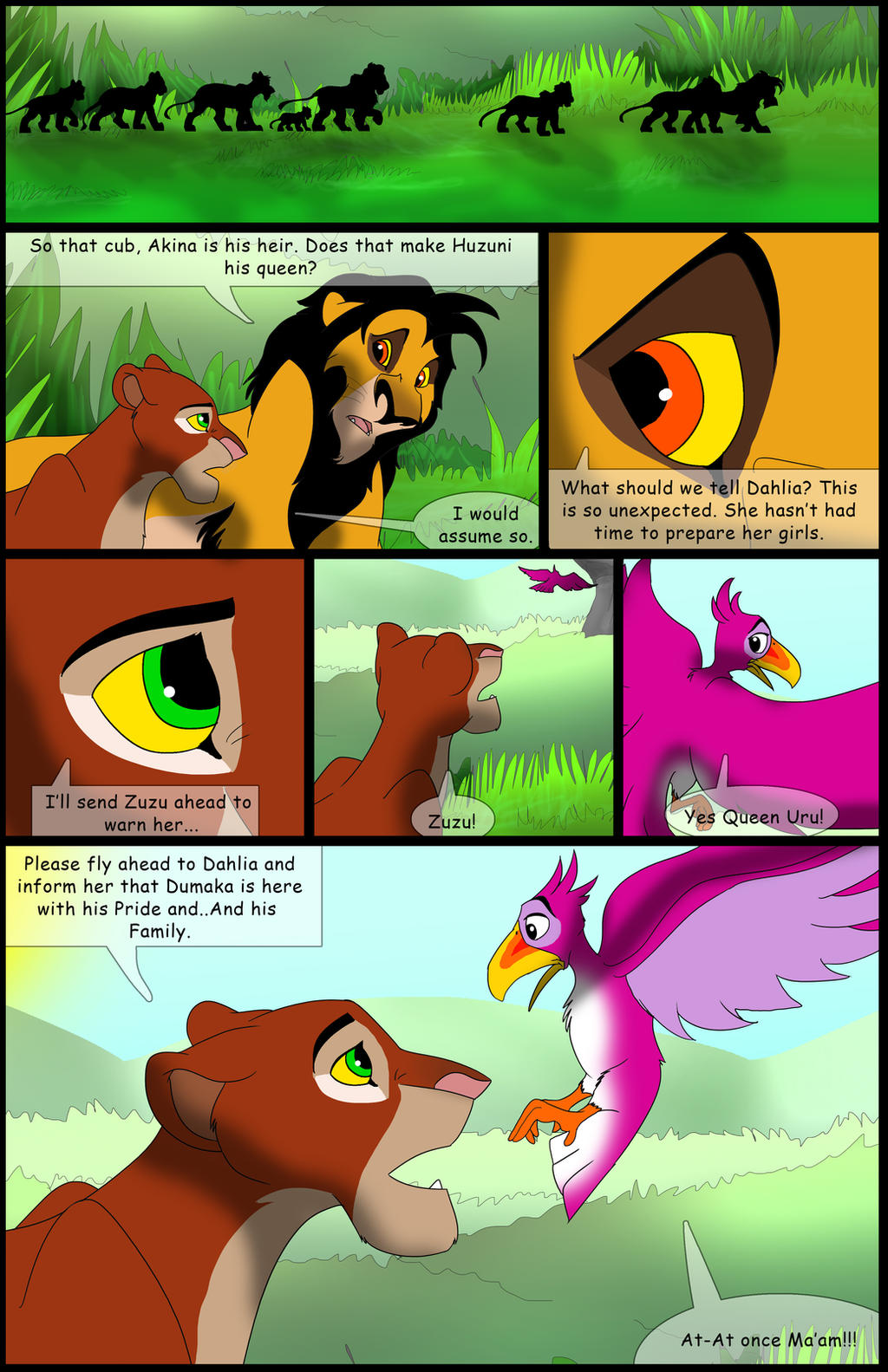 Uru's Reign: Chapter4: Page11 by albinoraven666fanart