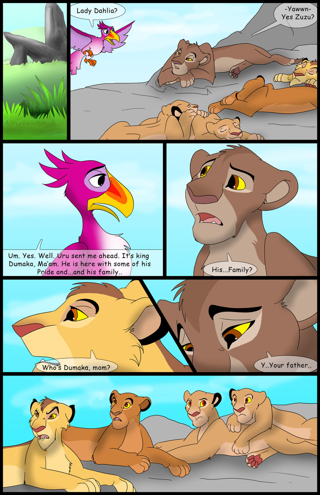 Uru's Reign: Chapter4: Page12 by albinoraven666fanart