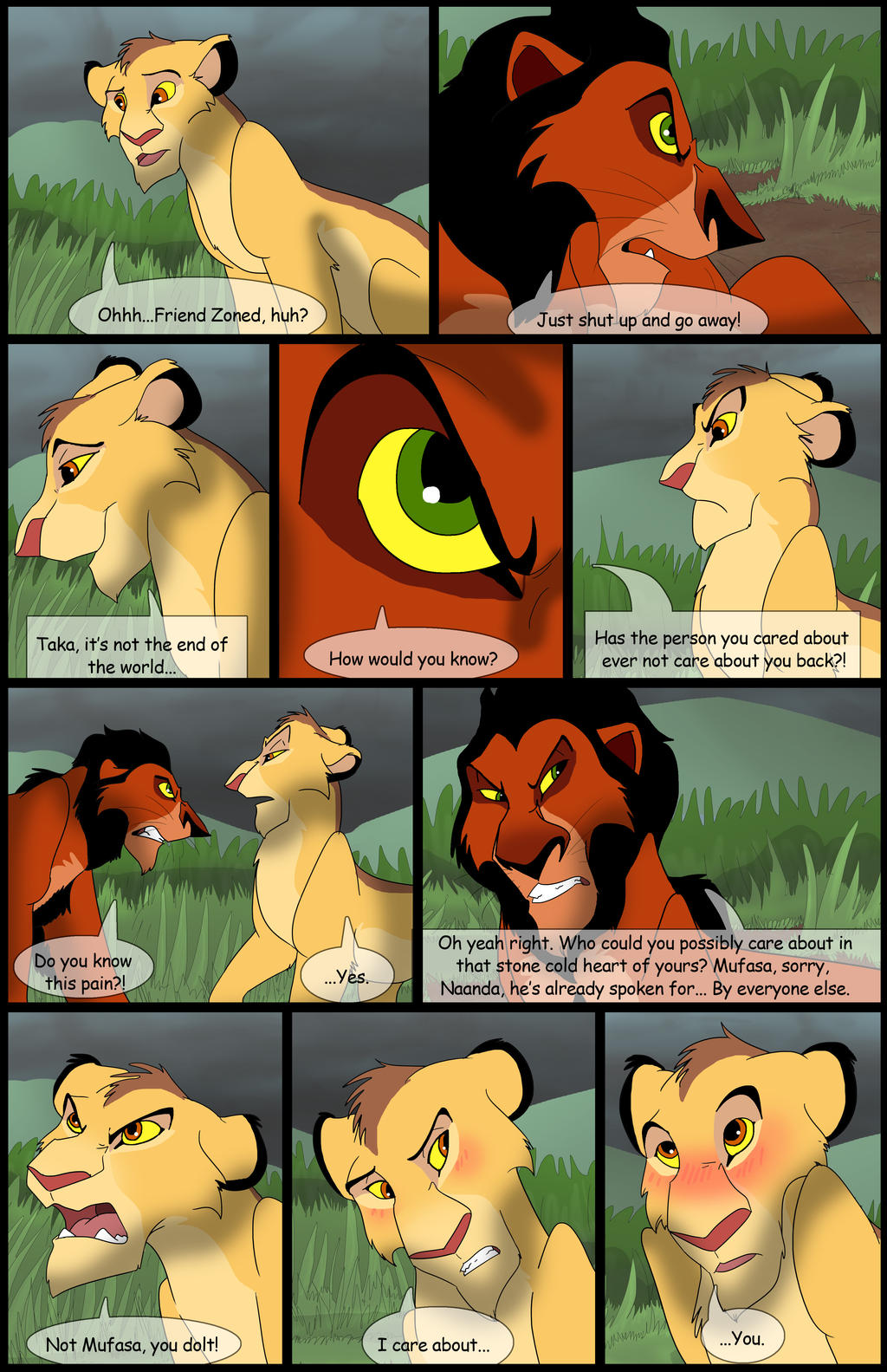 Uru's Reign: Chapter4: Page30 by albinoraven666fanart