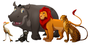 The Lion Guard - Adult TLK style