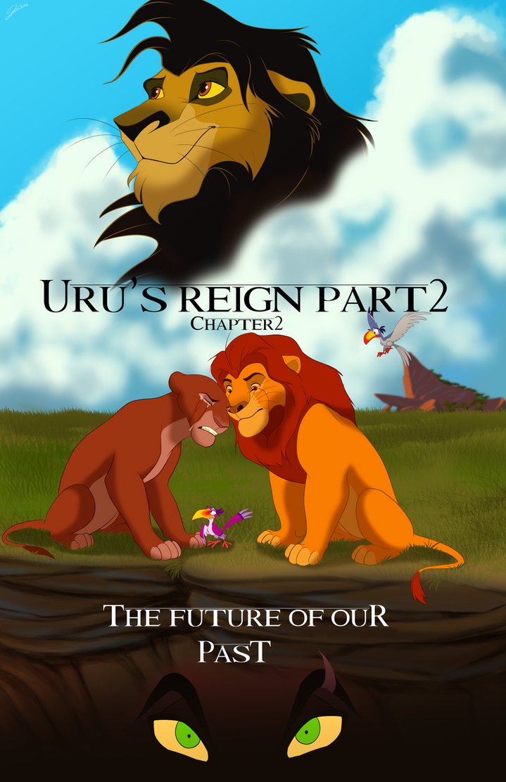 Uru's Reign Part 2 Chapter 2 Official Cover by albinoraven666fanart