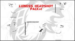 BASEPACK-5LionessHeadshots-200POINTS