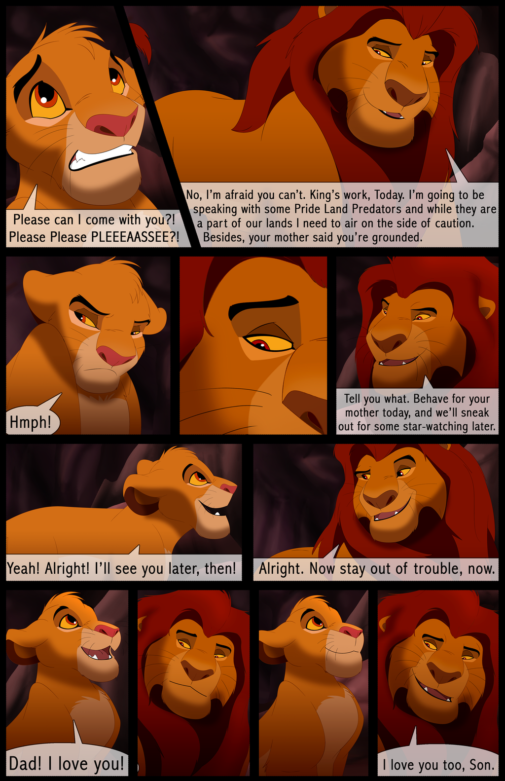 Mufasa's Reign: Chapter 1: Page 19 by albinoraven666fanart