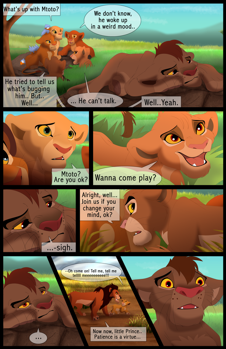 Mufasa's Reign: Chapter 1: Page 22 by albinoraven666fanart