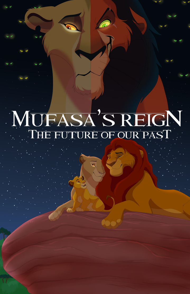 Mufasa's Reign Part 2 Official Cover by albinoraven666fanart