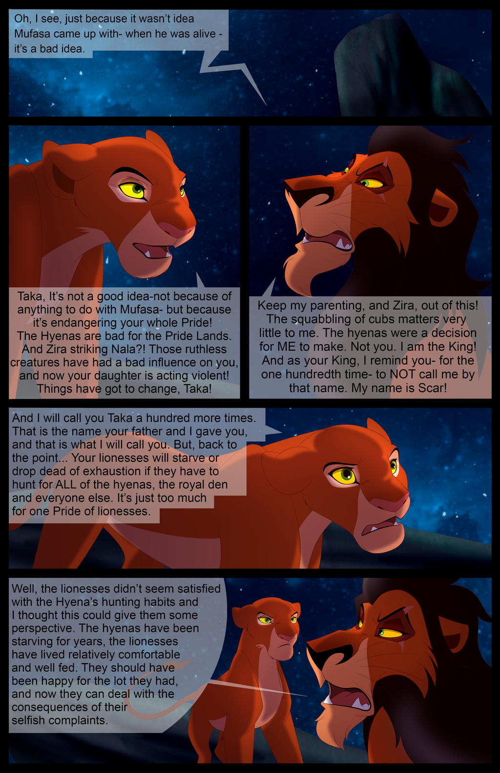 Scar's Reign: Chapter 1: Page 11