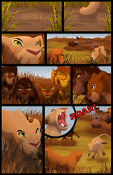 Scar's Reign: Chapter 3: Page 1 by albinoraven666fanart