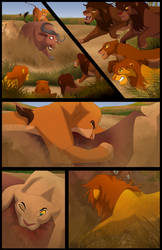 Scar's Reign: Chapter 3: Page 2 by albinoraven666fanart