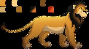 Maned Lioness Ref by albinoraven666fanart
