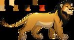 Maned Lioness Ref