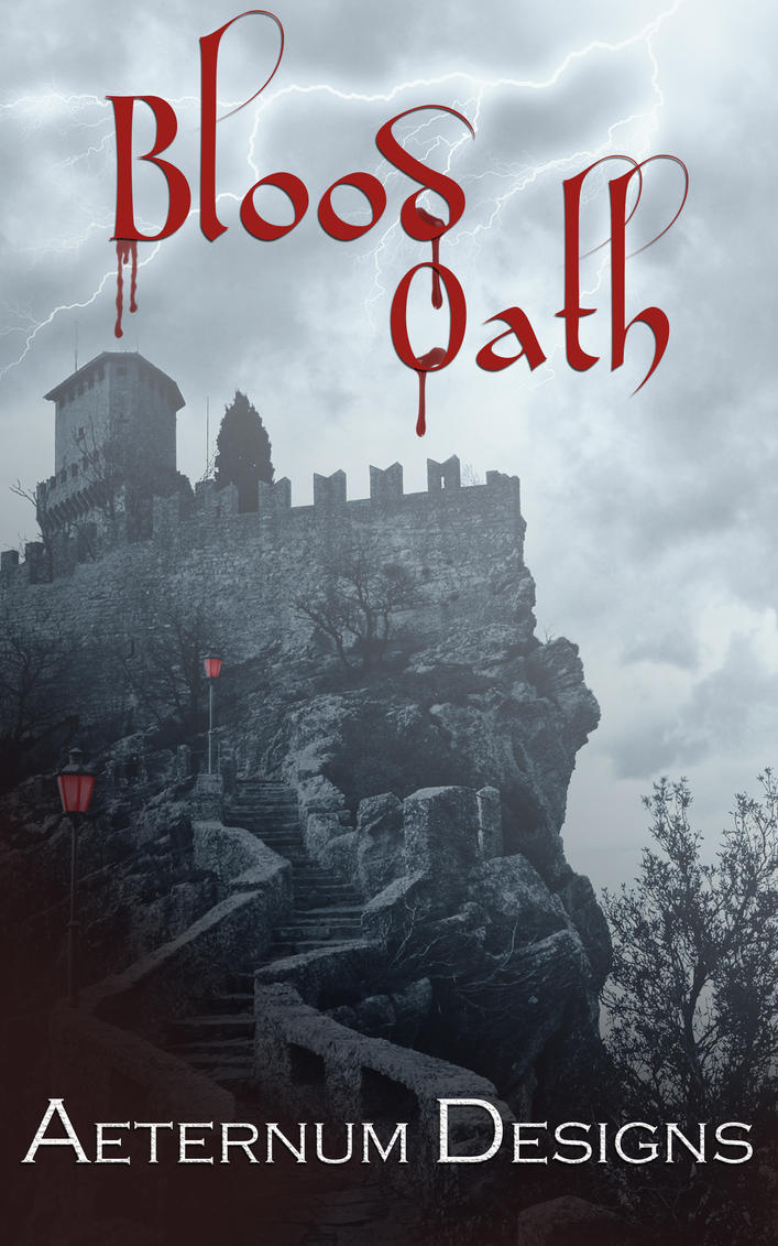 Book Cover Art For Sale ~ Book cover for sale blood oath by aeternumdesigns on