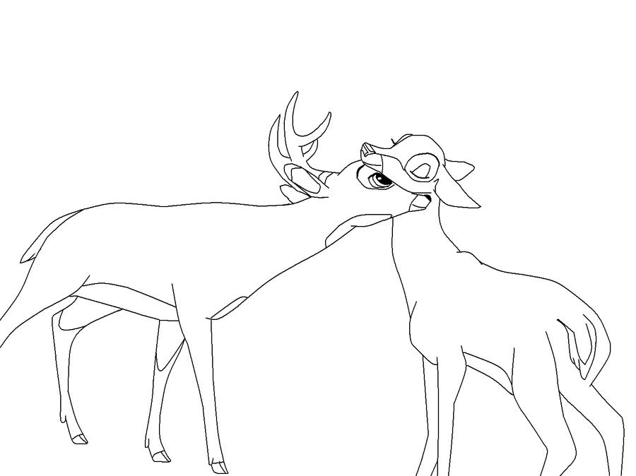 Coloring Pages Bambi - Democraciaejustica
