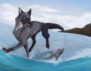 CC: Jerrik - Fish out of Water by Sabi-Arts