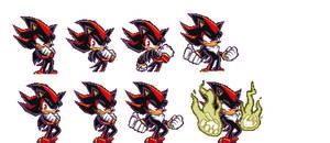 Shadow the hedgehog PIXEL ART
