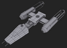 Y-Wing by JustinMs66