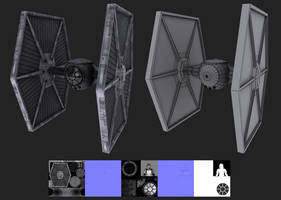 Tie Fighter by JustinMs66