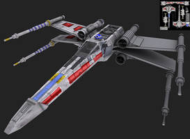 X-Wing by JustinMs66