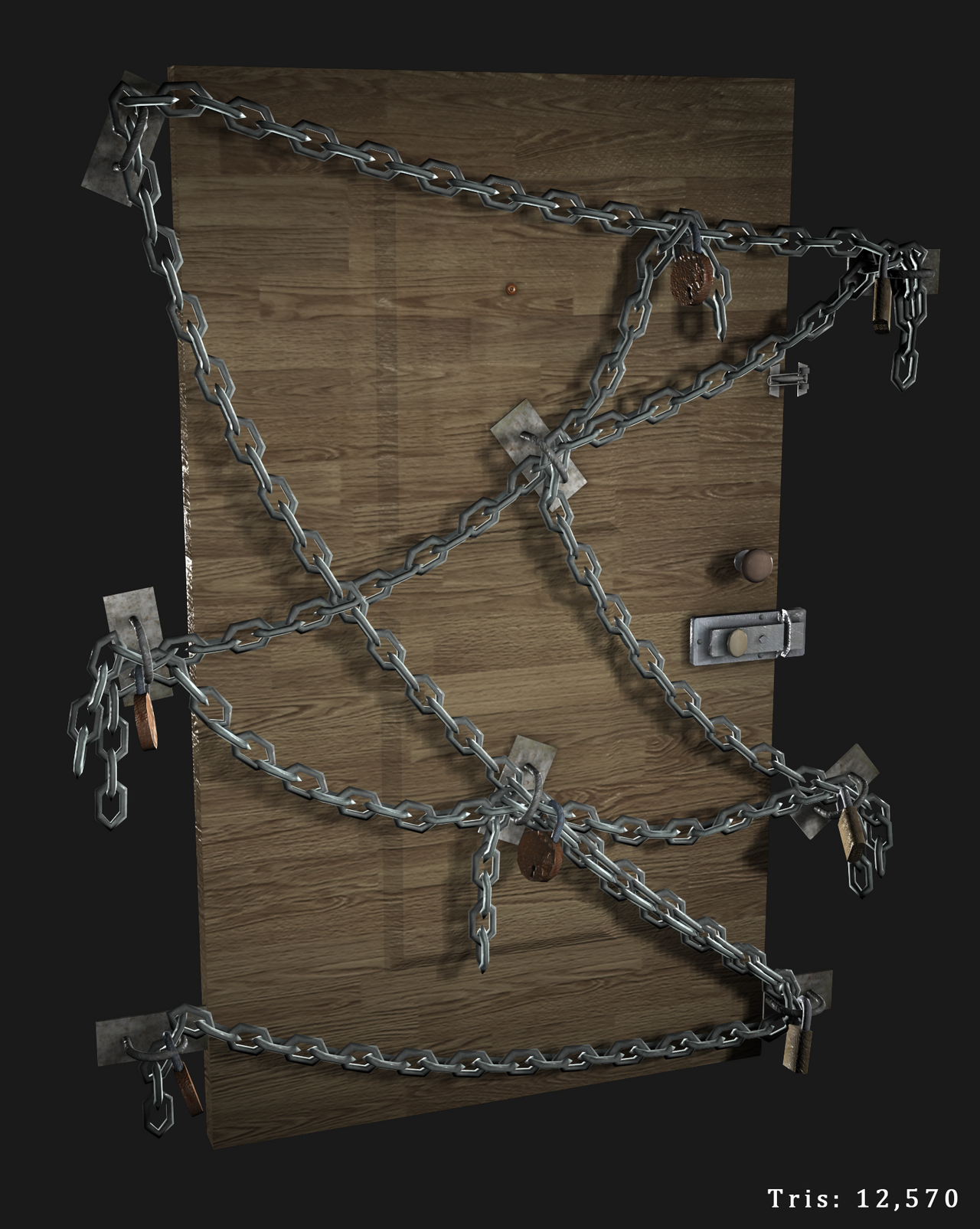 Chain Door by JustinMs66 on DeviantArt