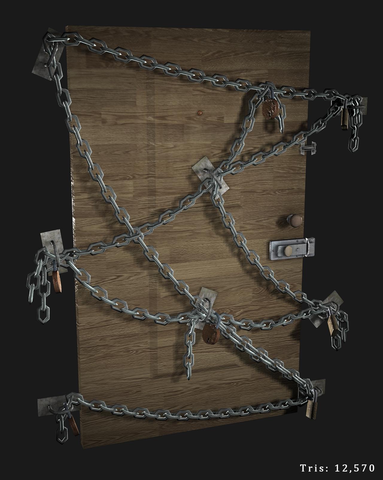 Chain Door by JustinMs66 Chain Door by JustinMs66 & Chain Door by JustinMs66 on DeviantArt Pezcame.Com