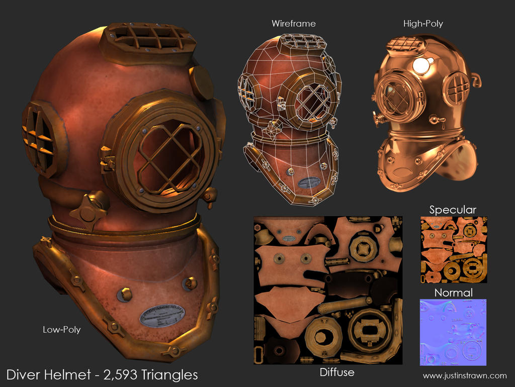 Diver Helmet by JustinMs66