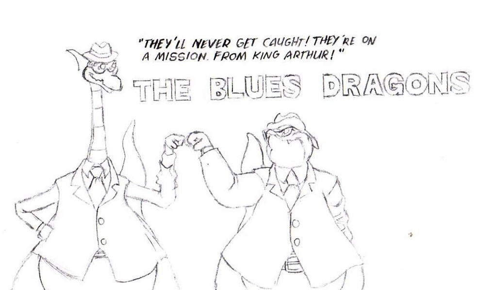 The Blues Dragons