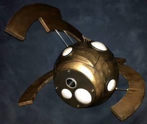 Kaijudo: Stalker Sphere by czarofhappiness