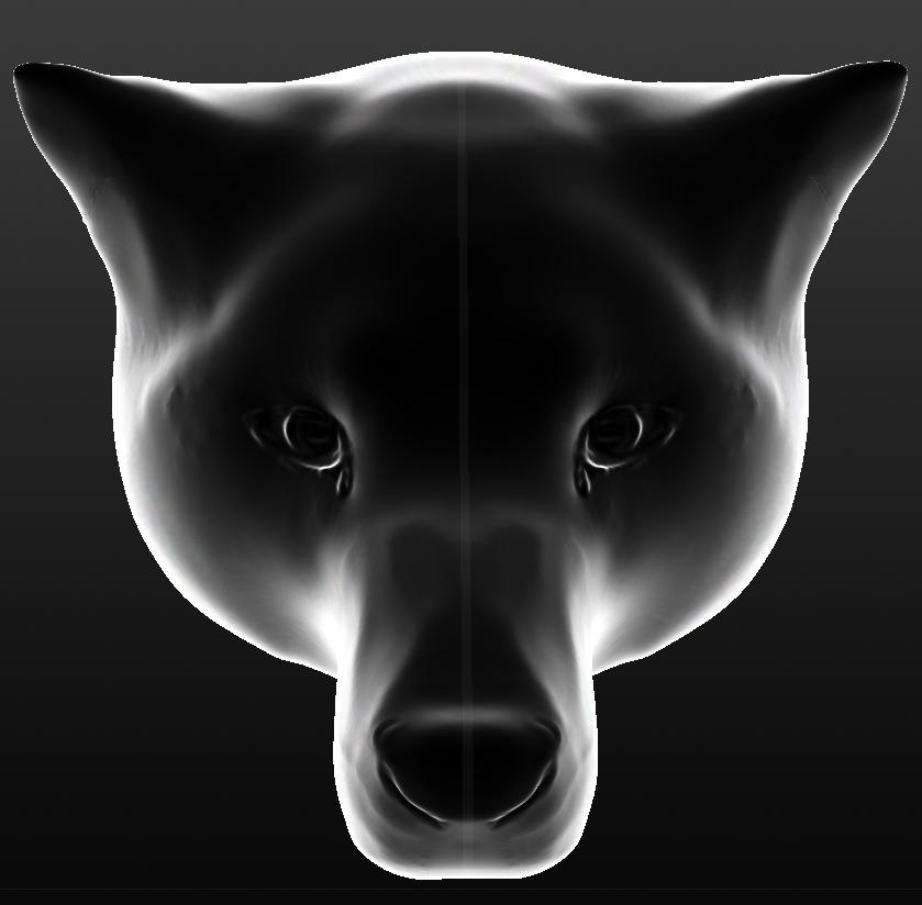 Ghost dog by Katryano