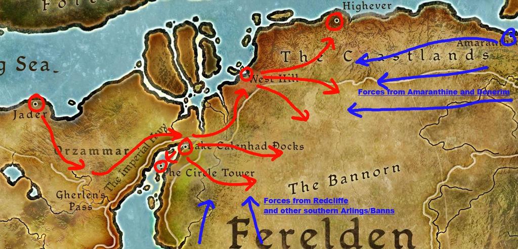 Orlesian And Ferelden Battle Map Hotna Rp By Royal Melon Court On Deviantart