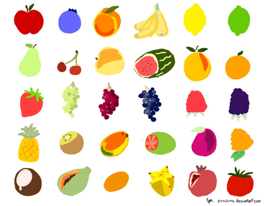 Cute Fruit Wallpaper fruit wallpaper by pirouline