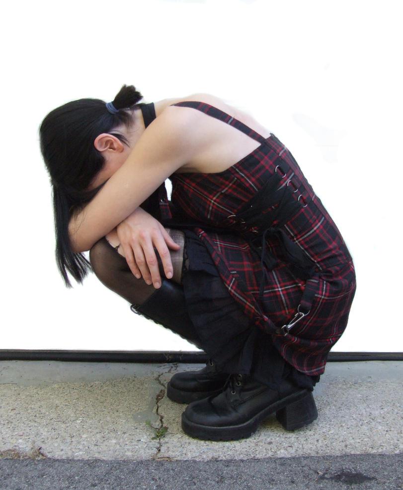 GP082 - Crouching Girl by guilty-pleasure