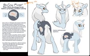 Gray Matter Reff Sheet by aHorseForEverySeason