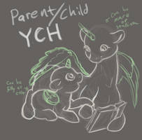 Storytime YCH - [closed] by aHorseForEverySeason