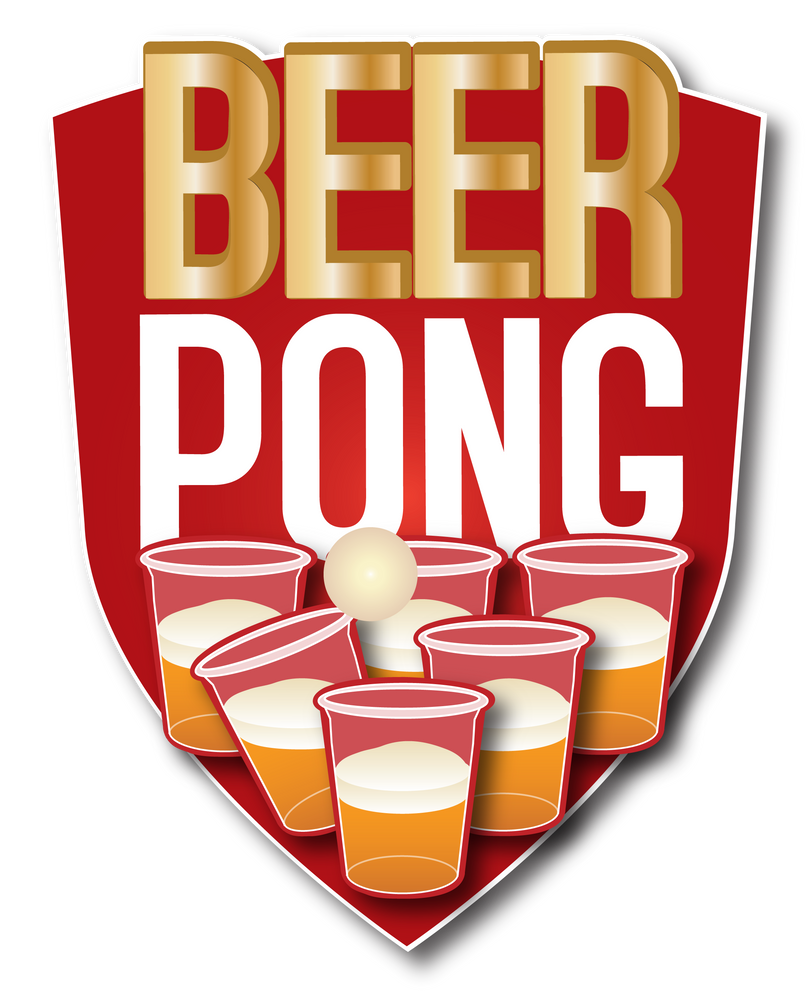 Beer pong banner