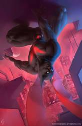 Batman: Bruce Wayne Beyond by Nel-Nelart