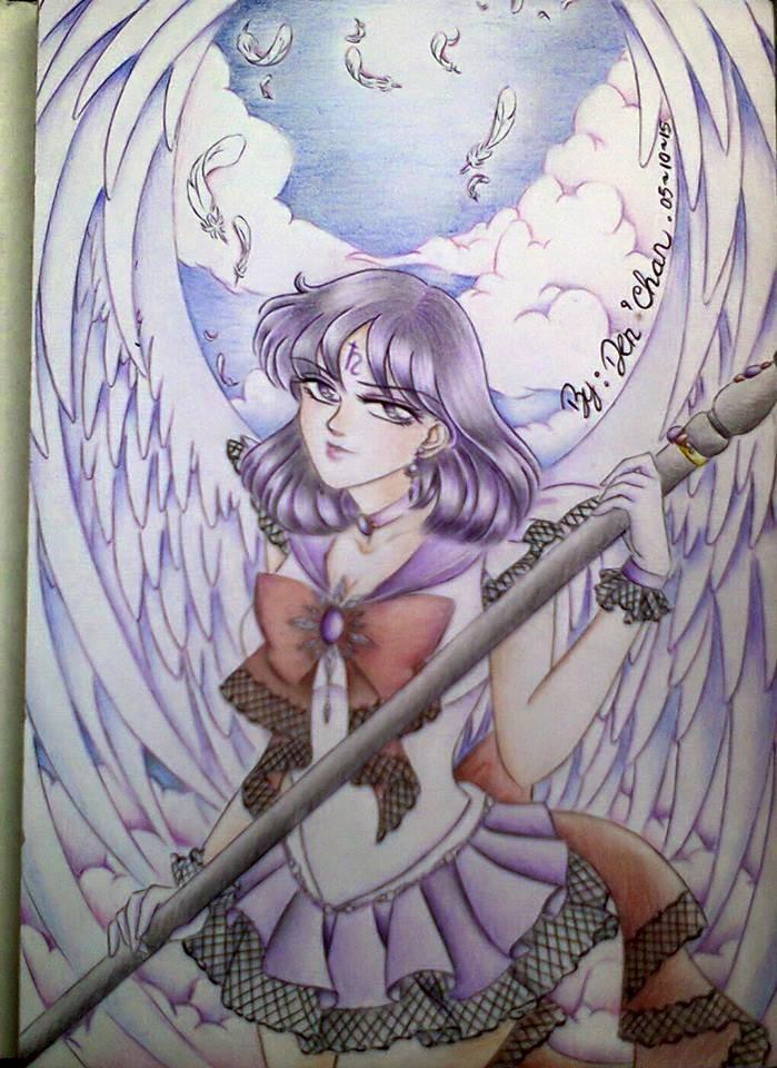 Fanart Sailor Saturnus by deniksan