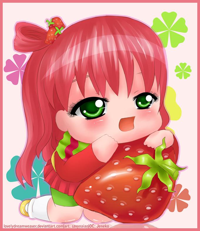 chibi prize: Jeneko by lovelydreamweaver
