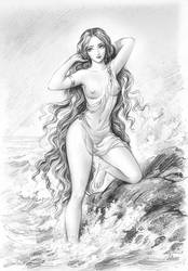 Aphroditus - god of beauty and love by DevaKami