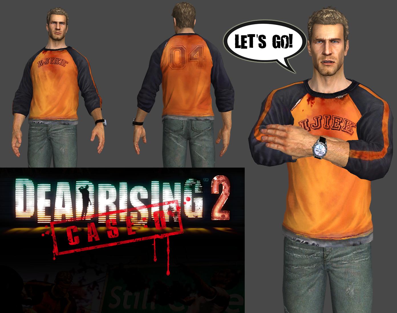 Xps Dead Rising 2 Case Zero Chuck Greene By Solidcal On Deviantart