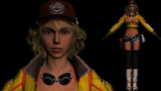 Final Fantasy XV Cindy Static model