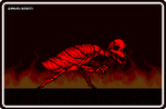 (NES Undertale?) ....Red Sans?