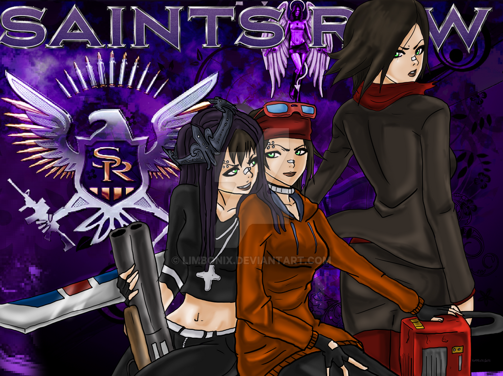 Saints Row 4 Anime Characters : The boss of saints by limbonix on deviantart