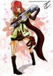 Lightning Farron Final Fantasy XIII