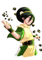 Toph beifong by Limbonix