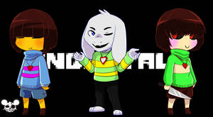 [UNDERTALE] Are you Determined? by Limbonix