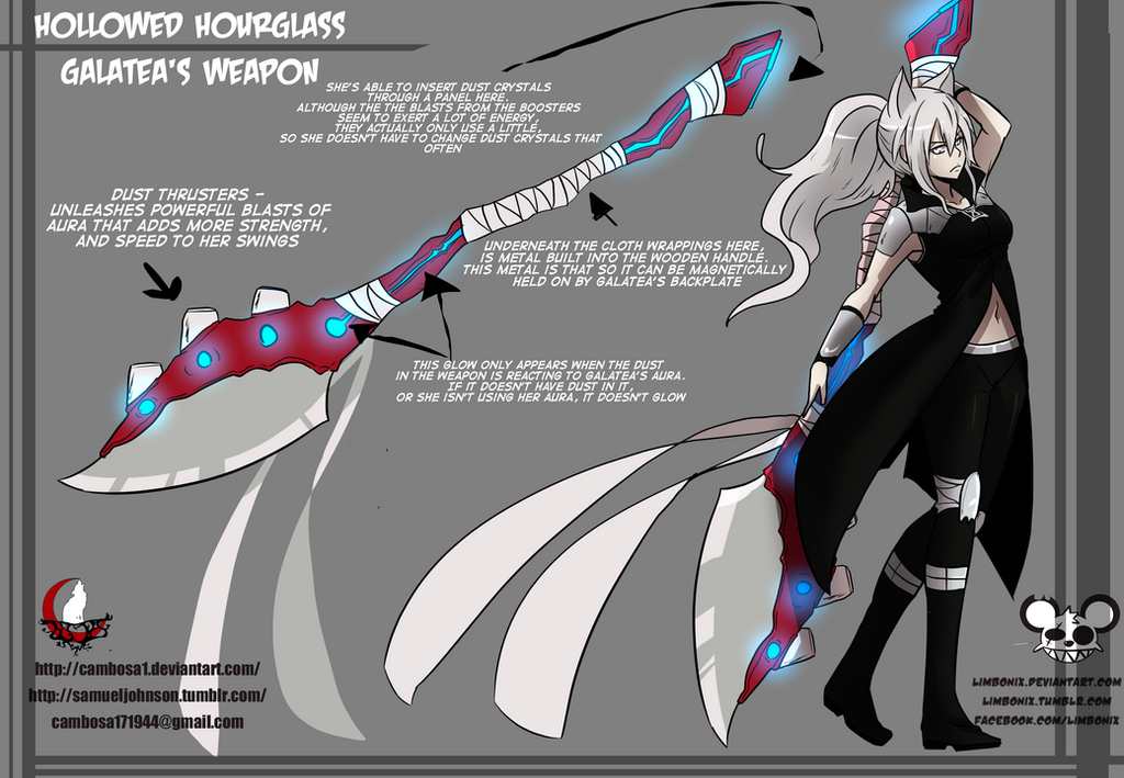 Rwby All Character Weapons - 0425