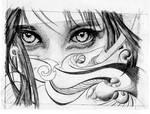 organic eyes by Ajala